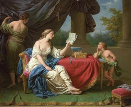 Lagrenee | Penelope Reading a Letter from Odysseus, undated | Giclée Canvas Print