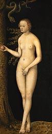 Eve, 1537 by Lucas Cranach | Giclée Canvas Print