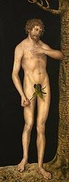 Adam, 1537 by Lucas Cranach | Giclée Canvas Print