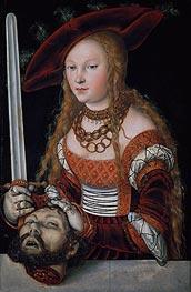 Lucas Cranach | Judith with the Head of Holofernes | Giclée Canvas Print