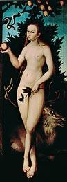 Eve, 1533 by Lucas Cranach | Giclée Canvas Print