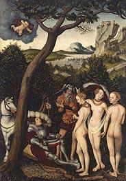 The Judgment of Paris, c.1528 by Lucas Cranach | Giclée Canvas Print