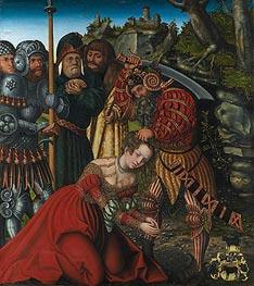 Lucas Cranach | The Martyrdom of Saint Barbara | Giclée Canvas Print