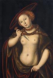 Lucretia, undated by Lucas Cranach | Giclée Canvas Print