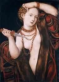 Lucretia, a.1537 by Lucas Cranach | Giclée Canvas Print