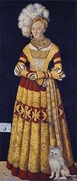 Lucas Cranach | Duchess Katharina of Mecklenburg | Giclée Canvas Print