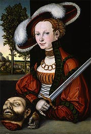 Lucas Cranach | Judith with the Head of Holofernes | Giclée Canvas Print