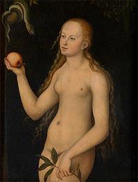 Eve, undated by Lucas Cranach | Giclée Canvas Print