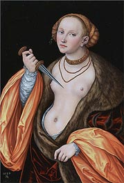 Lucretia, 1537 by Lucas Cranach | Giclée Canvas Print