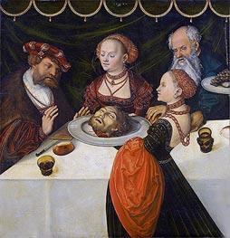 Lucas Cranach | Herod's Banquet | Giclée Canvas Print
