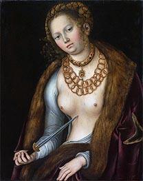 Lucretia, c.1510/13 by Lucas Cranach | Giclée Canvas Print
