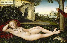 The Nymph of the Spring, 1537 by Lucas Cranach | Giclée Canvas Print