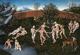 The Golden Age, c.1530 by Lucas Cranach | Giclée Canvas Print