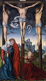 Lucas Cranach | Christ Crucified between the Two Thieves | Giclée Canvas Print
