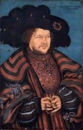 Lucas Cranach | Portrait of Joachim I Nestor, Elector of Brandenburg | Giclée Canvas Print