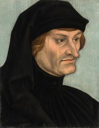 Lucas Cranach | Portrait of Rudolph Agricola | Giclée Canvas Print