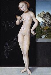 Lucretia, 1528 by Lucas Cranach | Giclée Canvas Print