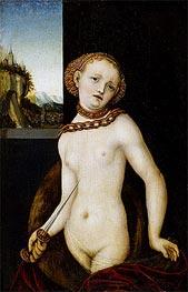 Lucretia, 1530 by Lucas Cranach | Giclée Canvas Print