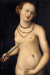 Lucas Cranach | The Suicide of Lucretia, a.1537 | Giclée Canvas Print