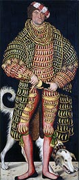 Lucas Cranach | Heinrich the Devout, Duke of Saxony, 1514 | Giclée Canvas Print