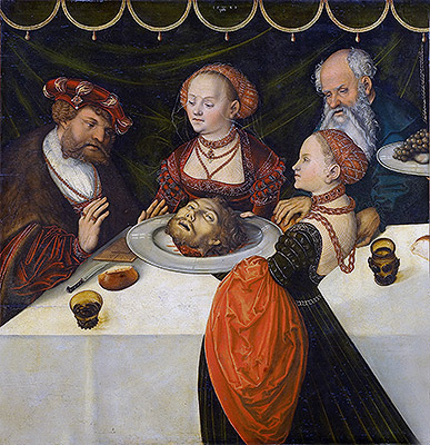 Herod's Banquet, 1539 | Lucas Cranach | Painting Reproduction