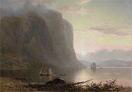 Lucius R. O'Brien | Sunrise on the Saguenay, Cape Trinity, 1880 | Giclée Canvas Print