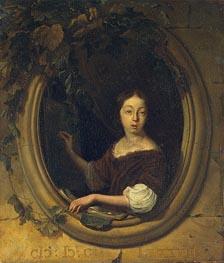 Bakhuysen | Portrait of an Artist | Giclée Canvas Print
