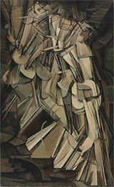 Nude Descending a Staircase II, 1912 by Marcel Duchamp | Giclée Canvas Print