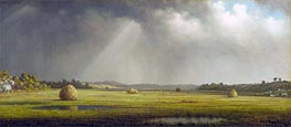 Martin Johnson Heade | Newburyport Meadows | Giclée Canvas Print