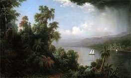 Martin Johnson Heade | Coast of Jamaica | Giclée Canvas Print