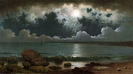 Martin Johnson Heade | Point Judith, Rhode Island, c.1867/68 | Giclée Canvas Print