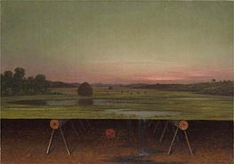 Martin Johnson Heade | Gremlin in the Studio II, c.1865/75 | Giclée Canvas Print