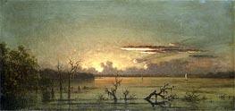 Martin Johnson Heade | Twilight on the St. John's RIver, undated | Giclée Canvas Print