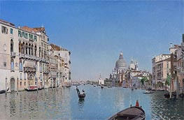 Martin Rico y Ortega | A Gondola on the Grand Canal, undated | Giclée Canvas Print