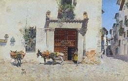 Martin Rico y Ortega | Waiting, 1875 | Giclée Canvas Print