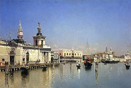 Martin Rico y Ortega | A View of Venice, undated | Giclée Canvas Print