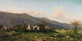 Martin Rico y Ortega | Switzerland Landscape, 1862 | Giclée Canvas Print