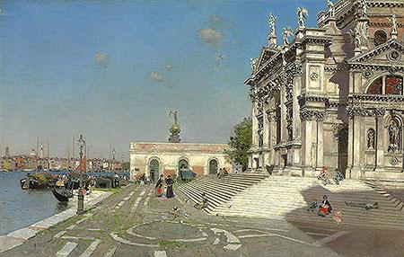 Santa Maria della Salute, Venice, undated | Martin Rico y Ortega | Painting Reproduction