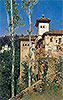 Rico y Ortega - The Ladies' Tower at the Alhambra - Art Print / Posters
