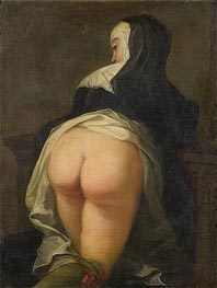 Martin van Meytens | Kneeling Nun (Recto), c.1731 | Giclée Canvas Print