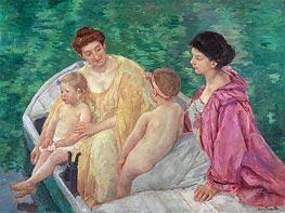 The Bath, c.1895 by Cassatt | Giclée Canvas Print