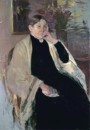 Mrs. Robert S. Cassatt (The Artist's Mother), c.1889 by Cassatt | Giclée Canvas Print