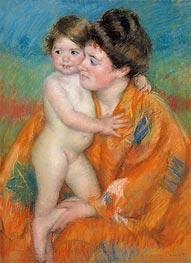 Woman with Baby, c.1902 by Cassatt   Giclée Paper Print