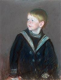 Sailor Boy: Portrait of Gardner Cassatt as a Child, 1892 by Cassatt | Giclée Paper Print