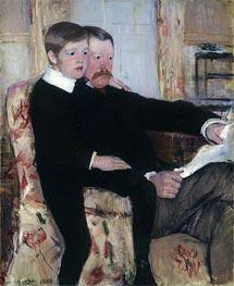Portrait of Alexander Cassatt and His Son, 1884 by Cassatt | Giclée Canvas Print
