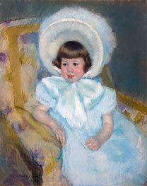 Cassatt | Portrait of Mademoiselle Louise-Aurore Villeboeuf, 1902 | Giclée Paper Print