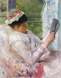 Lydia Cassatt Reading, 1878 by Cassatt | Giclée Canvas Print