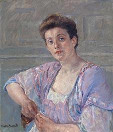 Cassatt | Meditation, 1906 | Giclée Canvas Print