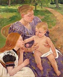 Cassatt | The Family, 1893 | Giclée Canvas Print