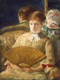 Cassatt | Woman with a Fan (Miss Mary Ellison), c.1878/79 | Giclée Canvas Print